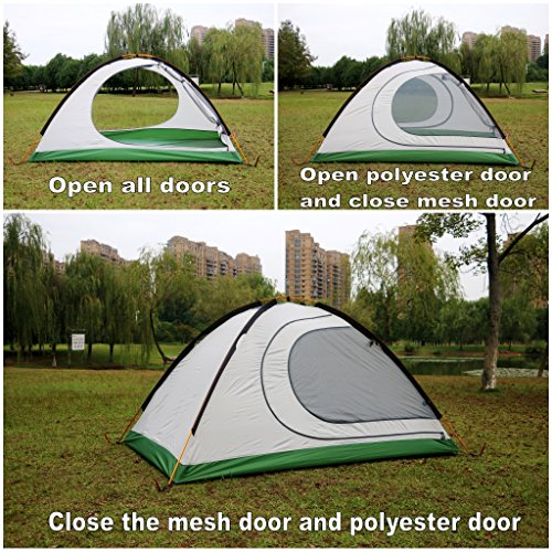 GEERTOP 4-season 2 man Waterproof Dome Backpacking Tent For C&ing Hiking Travel Climbing - Easy Set Up - Survival Outdoors UK & GEERTOP 4-season 2 man Waterproof Dome Backpacking Tent For ...