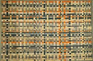 Toulemonde Bochart Collection Designer Modèle Algorithme Tapis Laine Automne 270 x 180 cm