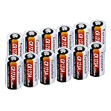 Expresstech @ 12x CR123A Batteria a Litio Lithium 1300mAh Monouso Batteries Alte Prestazioni Non Ricaricabili Batterie per Videocamera, Flashlight Photo, Fotocamera Digitale