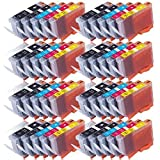 40 Druckerpatronen kompatibel zu CANON PGI525 CLI526 (für PIXMA Serie etc.)