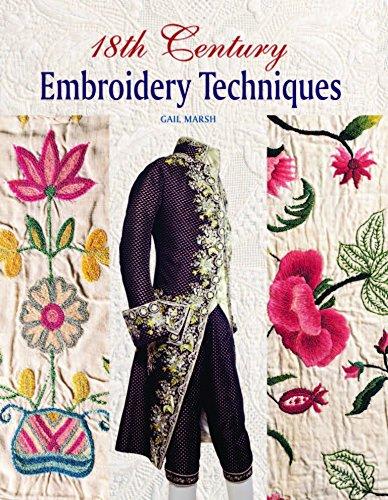 18th Century Embroidery Techniques por Gail Marsh