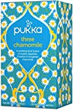 Pukka Three Chamomile 20 Tea Bags (Pack of 4)