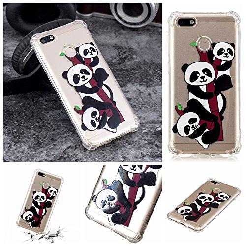 coque panda huawei y6 pro 2017 silicone