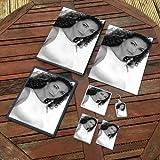 REBECCA GAYHEART - Original Art Gift Set #js001 (Includes - A4 Canvas - A4 Print - Coaster - Fridge Magnet - Keyring - Mouse Mat - Sketch Card)