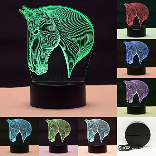 luz-led-3d-cabeza-de-caballo