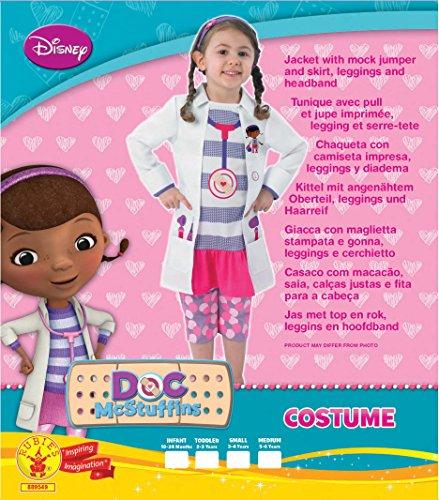 Imagen de doctora juguetes  disfraz de medico para niña, talla m 6 años  i 889549m  alternativa