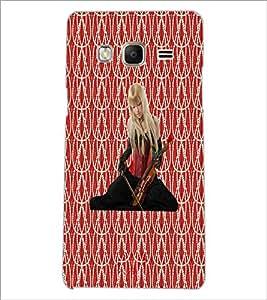 PrintDhaba Violin Girl D-5654 Back Case Cover for SAMSUNG Z3 (Multi-Coloured)