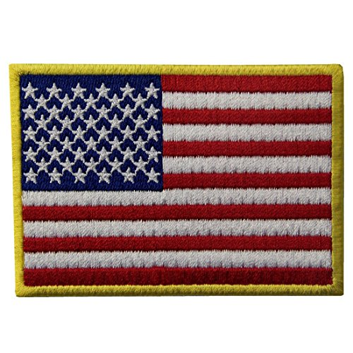 Amerikanische Flagge USA National Embroidered Iron Auf N?hen Auf Patch