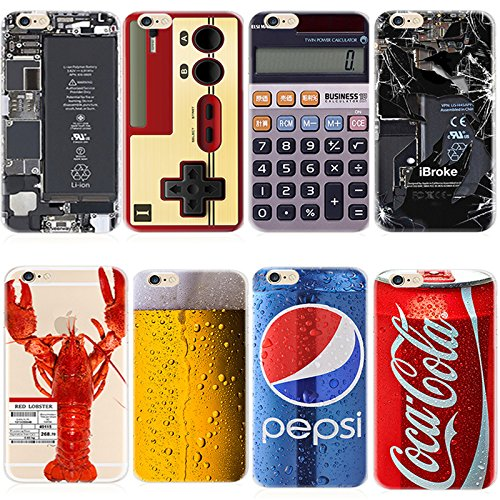 KoalaGroup® IPhone 6/6S (4.7-inch) Case,Ultrathin Product TPU Clear Tpu Cover:Pepsi/Audiotape/Red Lobster/Camouflage/Calculator/Coca Cola/Beer Case For iphone 6/6S (Coca Cola) Red Lobster
