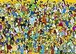 Educa - 1000 Teile Puzzle - Die Simpsons