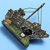Aquarium - Fregadero de imitación para pecera, diseño de barco