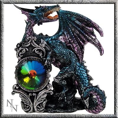 Blue Dragon Guardian Figurine
