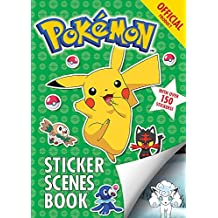 The Official Pokémon Sticker Scenes Book