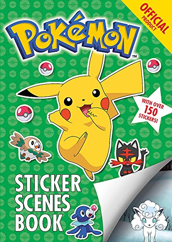 The Official Pokémon Sticker Scenes Book