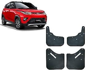 Auto Pearl - Premium Quality Car O.E Type Mud Flaps Guard For - Mahindra KUV 100 2018 onwards