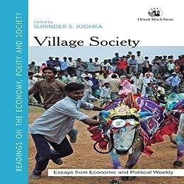 Village Society by [Surinder S. Jodhka]