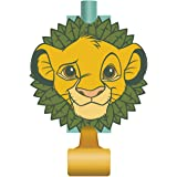 Unique Industries The Lion King Birthday Party Blowouts [8 per Package]