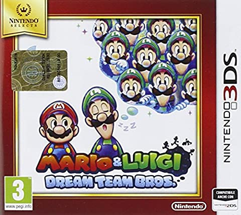 Mario Et Luigi Dream Team Bros 3ds - Nintendo Mario & Luigi Dream Team Bros.