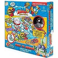 SuperZings- Professor K Juego de Mesa – Race to Rescue-Castellano (CEF21651), Multicolor (Cefa Toys 21651)