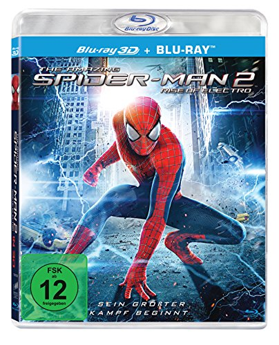 The Amazing Spider-Man 2: Rise of Electro (3D + 2D Version - 2 Discs) [3D Blu-ray] (Amazing Spiderman 2 Electro)