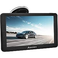 Navigationsgerät für Auto LKW Aonerex 7 Zoll Touchscreen GPS Navi Navigation Lebenslang Kostenloses Kartenupdate mit POI…