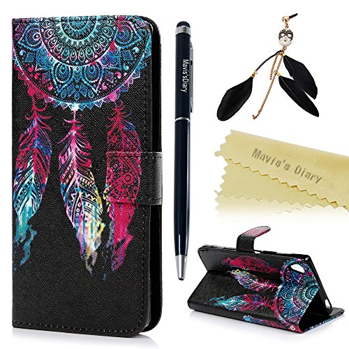 maviss-diary-xperia-z5-premium-case-sony-xperia-z5-premium-case-55-wallet-case-pu-leather-flip-cover