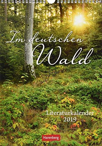 Im deutschen Wald - Kalender 2019: Literaturkalender