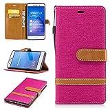 Nancen Wallet Case Hülle für Huawei P9 Lite / P9 mini