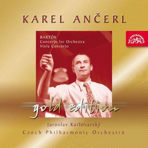 Ancerl Gold Edition 26 Bartok: Concerto for Orchestra, Concerto for Viola and...