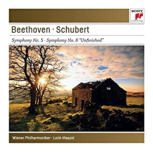 """Beethoven : Symphonie n° 5 - Schubert : Symphonie n° 8 """"Inachevée"""""""