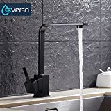 everso Modern Kitchen Sink Taps Mixer Swivel Spout Tap Faucet Single Lever Luxury