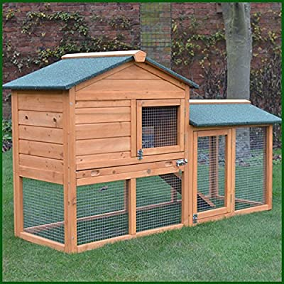 FeelGoodUK Rabbit Hutch, 147 x 85 x 53 cm