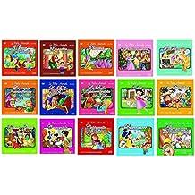 Offerta Speciale,15 Cd Audio + 15 DVD le Più Belle Canzoncine & Fiabe Idea Regalo per bambini e Per Feste di Compleanno, Pinocchio, I Tre Porcellini, L Bella e la Bestia, Pollicina ....