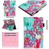 WIWJ Hülle Case für Lenovo Tab4 10 Plus,Ultra Slim Gemalt Schutzhülle Tasche Case 3D lackiertes Tablet Lederetui Lederhülle Schale für Lenovo Tab4 10 Plus-Flamingo