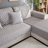 dw hx flanell sofa slipcover mobel protector fur hund 3 sitze gesteppter volltonfarbe verdicken sie sofauberwurf