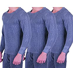 Zimfit Mens Winter Wear Full Sleeves Ultra Thermal (Upper) (95) 3PC