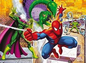 Clementoni Puzzle Magic 3D 20034.4 Spiderman - Puzzle en 3D (104 piezas) importado de Alemania