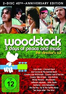 DVD * Woodstock - 3 Days of Peace and Music S.E. (2 Discs) [Import anglais]