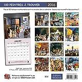 Image de 100 peintres à trouver - Calendrier 2016