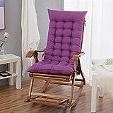 bambus - stuhl, baumwolle, kissen, liegestuhl für alte, falten und schaukeln freien herbst - winter - stock - stuhl, verdickte freizeit kissen (ohne stühle),sitzkissen der liegegern,48 * 120 allgemeinen geld