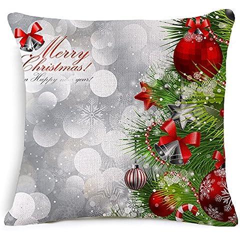 Generico Santa Claus, cuscino 45 * 45,45*45, amore busta - Amore Piccolo Attività Giocattoli