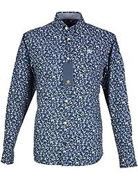 Henri Lloyd - Camisa casual - cuello tab - para hombre