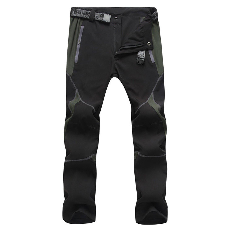 LUI SUI Hombre Al Aire Libre Impermeable Respirable Secado Rápido Pantalones Delgados Ropa Deportiva Escalada Ciclismo Pantalones De Trabajo