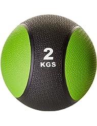 Gorilla Sports Medizinball Gewichtsball Rehaball Fitnessball Set Zweifarbig 1-10kg