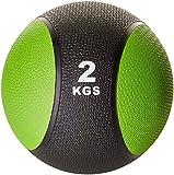 Gorilla Sports Médecine ball 2kg vert/noir
