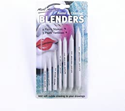 ASINT Pastel & Charcoal Paper Stump Blenders 7 Pc