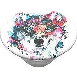PopSockets PopTop - Top Interchangeable pour Votre PopGrip Interchangeable - Wolf