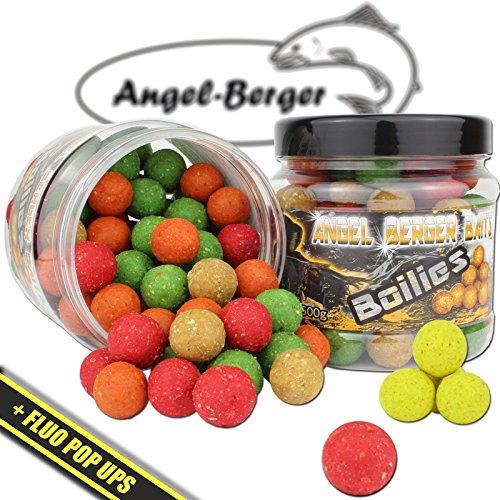 Angel Berger Magic Baits Boilies mit Pop Ups in verschiedenen Sorten (Magic Mix)