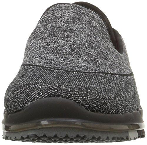 Skechers Damen Go Flex Sneakers Schwarz (Bbk)