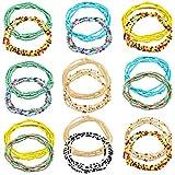 vamei 18Pcs Cadenas del Cuerpo de Las Mujeres Joyería Conjunto del Grano de la Cintura Perlas de la Cintura Africana Bikini Perlas del Cuerpo Cadena del Vientre
